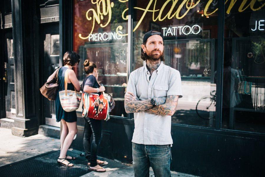 ニューヨークのカリスマピアッサー/J.colby Smith