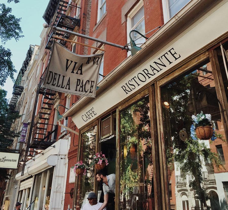 地元っ子が通うイーストヴィレッジのイタリアンレストラン / Via Della Pace