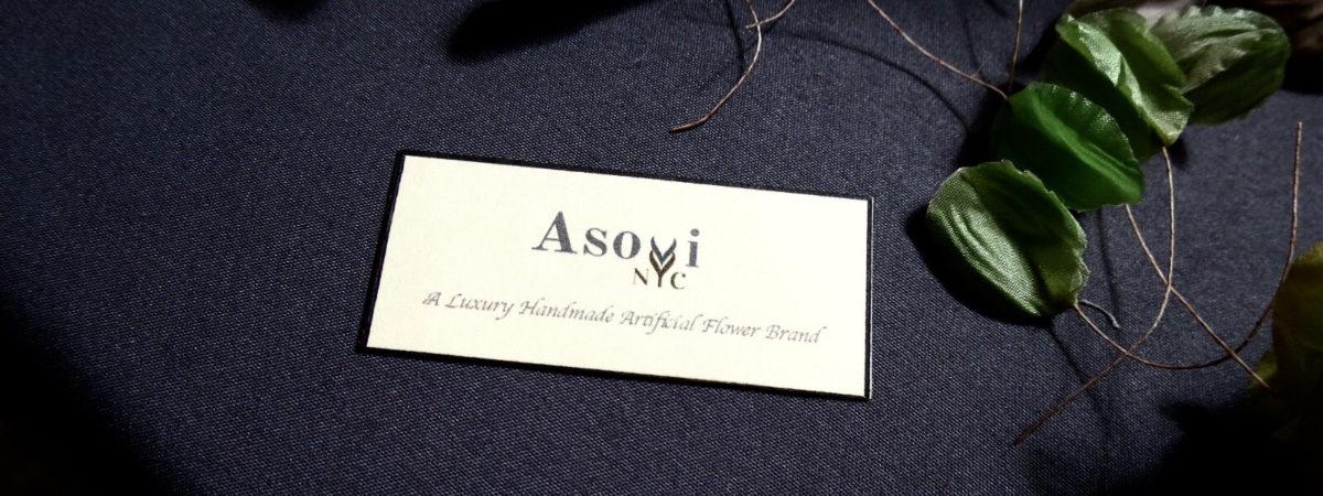 NY発口コミで注目度急上昇中のジュエリーブランド #Asovi NYC