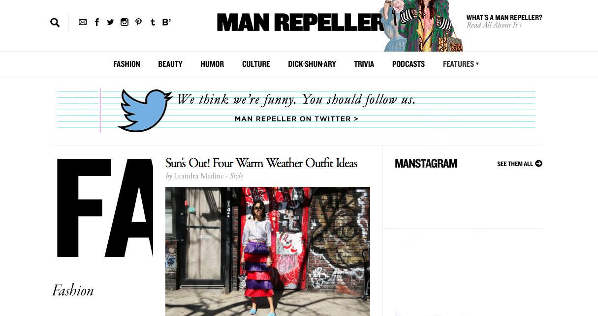 Photo /.man repeller.com